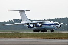 Aviacon Zitotrans Ilyushin Il-76 August 2010.jpg