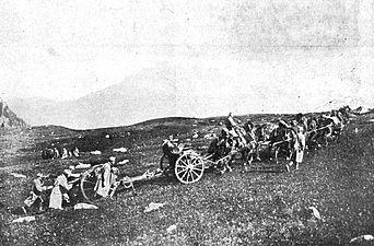 Avstro-ogrski topništvo na na poti v Dolomite.jpg