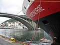 Awaiting departure - Hurtigruten - panoramio.jpg