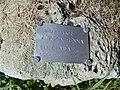 Ayrton Senna memorial, sign, 2020 Sárospatak.jpg