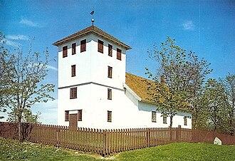 Hole, Norway - Bønsnes Church