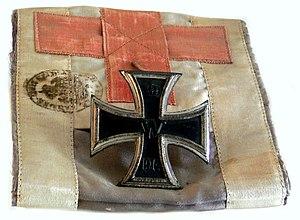 Rupert Mayer - Iron Cross medal of Fr. Rupert Mayer, exhibited in the Bürgersaalkirche of Munich