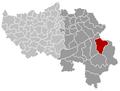 Bütgenbach Liège Belgium Map.png