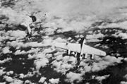B-24 Destroyed