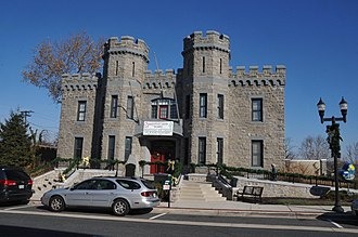 National Register of Historic Places listings in Harford County, Maryland - Image: BEL AIR ARMORY, HARFORD COUNTY, MD