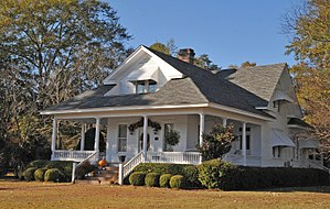National Register of Historic Places listings in Clarke County, Mississippi - Image: BENJAMIN H. CARTER HOUSE, QUITMAN, CLARKE COUNTY, MS