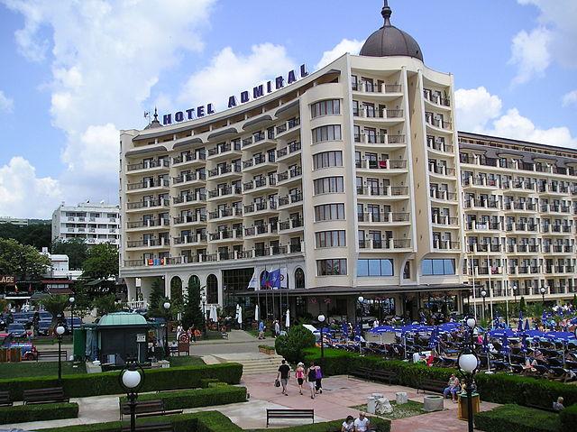 Hotel Admiral w Bułgarii