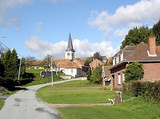 Amettes - The church of Amettes