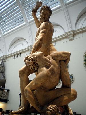 BLW Samson slaying a philistine
