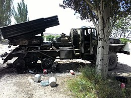 BM-21 Grad captured near Dobropillya 03.jpg