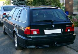 BMW E39 Touring rear 20071007.jpg