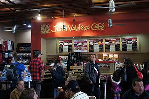 Juan Valdez Café - Juan Valdez Café coffeehouse in Bogotá, Colombia