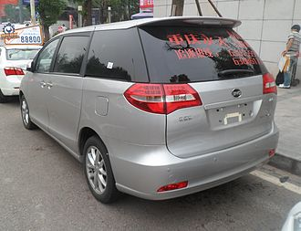 BYD M6 - Image: BYD M6 02 China 2012 06 07
