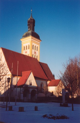 Baar-Ebenhausen - Church in Baar-Ebenhausen