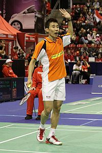Lee Chong Wei bei den Swiss Open 2009