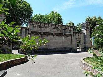 Cimetière parisien de Bagneux - Entrance of the Cimetière parisien de Bagneux