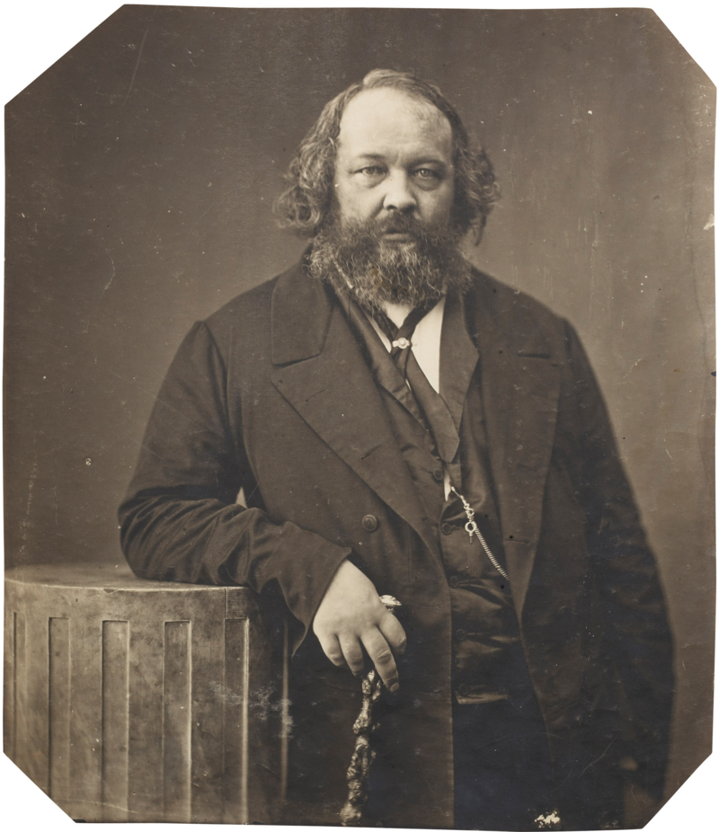 Photo of Mikhail Bakunin by Nadar