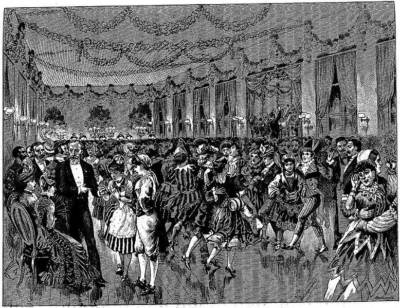 Fichier:Bal des folles à la Salpetrière en 1888.jpg