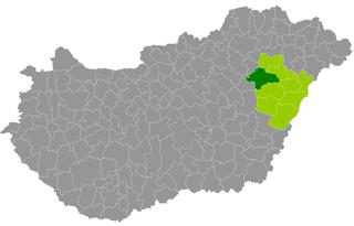 Balmazújváros District Districts of Hungary in Hajdú-Bihar