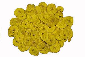Banana chip - Dried banana chips