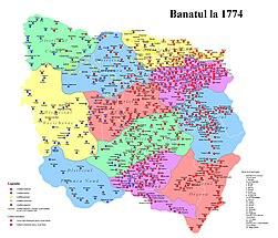 Banatul la 1774.jpg