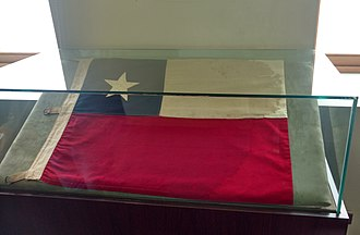 Laguna del Desierto incident - The Chilean flag captured in the incident is now located in the Historic Museum of Carabineros of Chile in Santiago, after being handed back by the Argentine Government in 2017