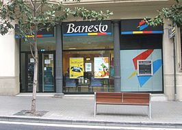 Filiaal van Banesto in Gracia, Barcelona