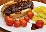 Barbecue sandwich with pickle and tomato.jpg