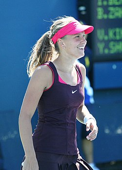 Barbora Záhlavová-Strýcová at the 2010 US Open 01.jpg