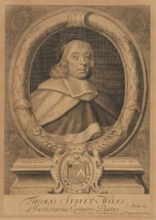 Thomas Street (judge) English judge and politician