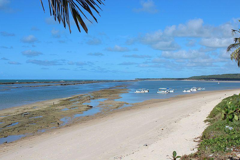 Praia da Barra de São Miguel Alagoas