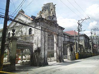 2013 Bohol earthquake - Basilica Minore del Santo Niño
