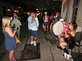 Bastille Tumble 2010 Lafittes Sidewalk Band.JPG