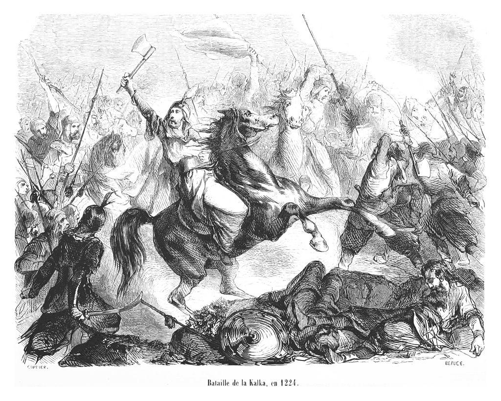 Bataille de la Kalka, en 1224.jpg