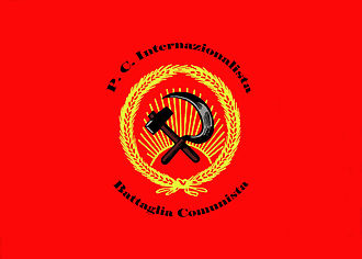 Onorato Damen - Flag of the Internationalist Communist Party