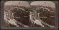 Battery Park, extreme southern part of Manhattan island, elevated railway and New York Bay, New York City, from Robert N. Dennis collection of stereoscopic views.png