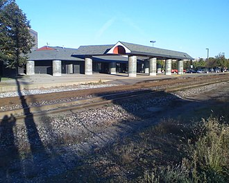Battle Creek Transportation Center - The station in 2007, before its refurbishment in 2012.
