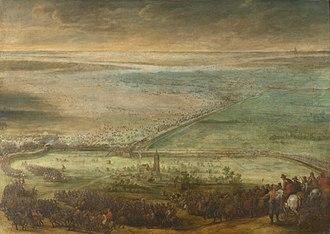Battle of Kallo - The Battle of Kallo. Oil on canvas by Pieter Snayers.
