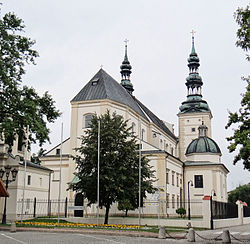 Cathedral in Łowicz
