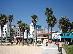Venice Beach og Boardwalk
