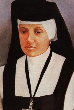 Laura Evangelista Alvarado Cardozo - Image: Beata María de San José