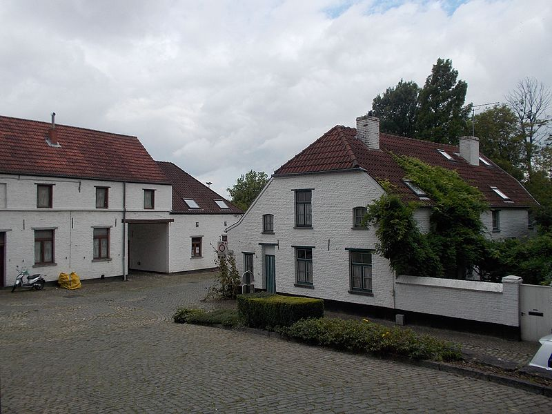Former beguinage of Kraainem, Belgium. Currently reclaimed for residential purposes.