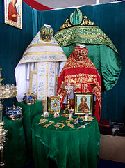 Belarus-Minsk-Russian Exhibition-Orthodox Church Clothing