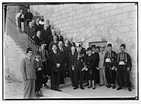 Belgian Consul Gen. & other consuls on St. Sauver on Belgian king's birthday LOC matpc.04454.jpg