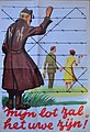 """Belgische Propaganda Poster over Koning Leopold III Met het opschrift """"Mijn Lot Zal Het Uwe Zijn"""" uitgegeven in 1950 in het kader van de Koningskwestie.jpg"""