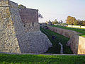Belgrade. Wall, moat and earthworks of the Kalemegdan fortress.jpg