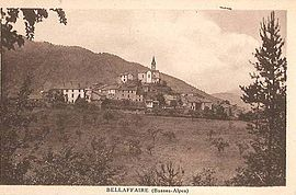 The village in the 1920s