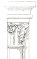 Belmont Abbey Bell Tower Capital 1 Camille Enlart 1921.png