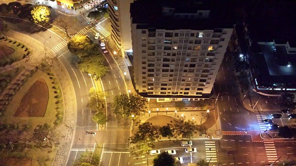 Belo Horizonte view from JK building