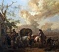 Bemberg Fondation Toulouse - Le Relais - Philips Wouwerman - Huile sur bois - Inv.1058 36x42.jpg